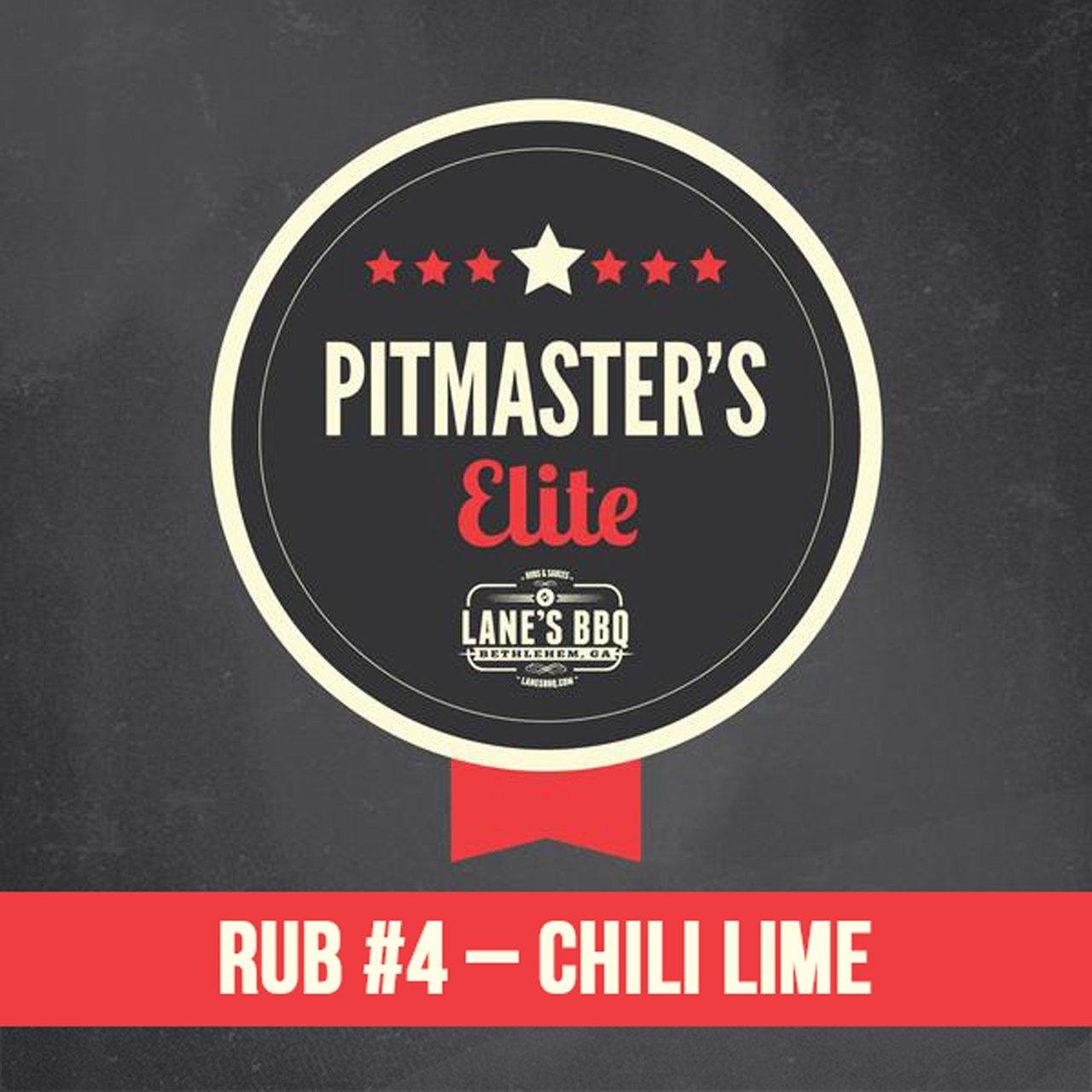 PITMASTER'S Elite Rub #4 Chili Lime $25.00