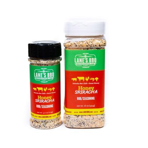 Lanes BBQ Honey Sriracha   Small $12.95  Large $35.00