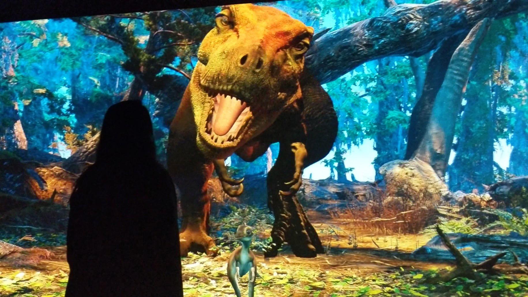 T. rex Alive