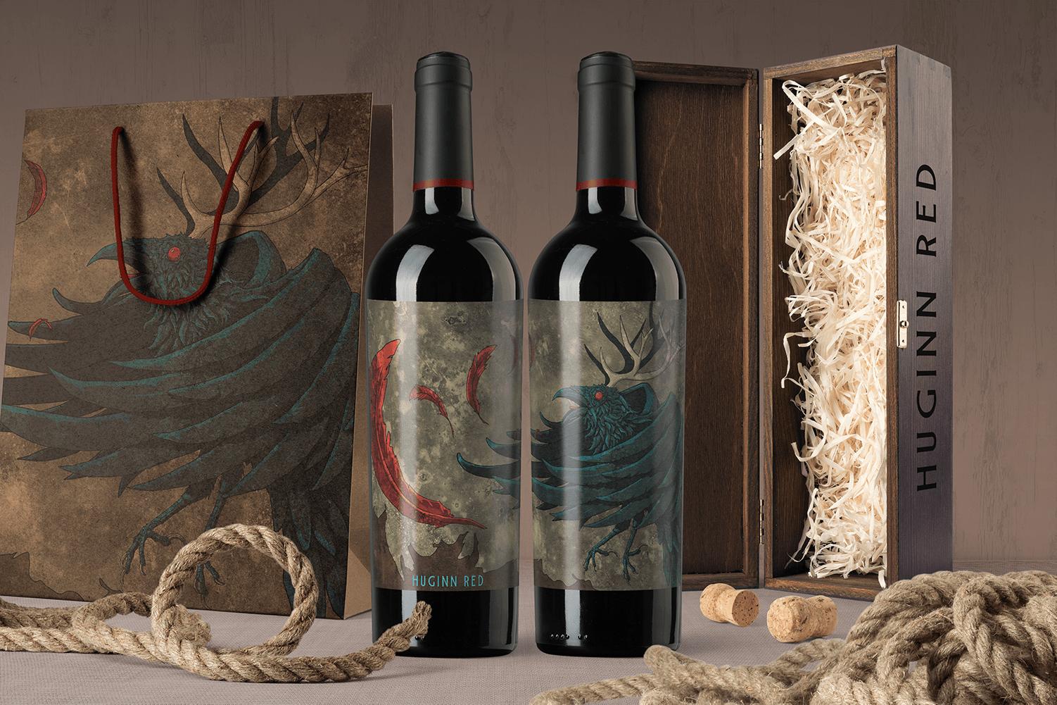 Huginn Red Wine-front-packaging-scene_mockup 1.png