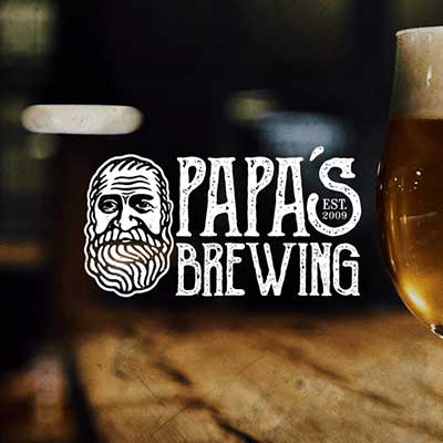 PAPA'S BREWING LOGO