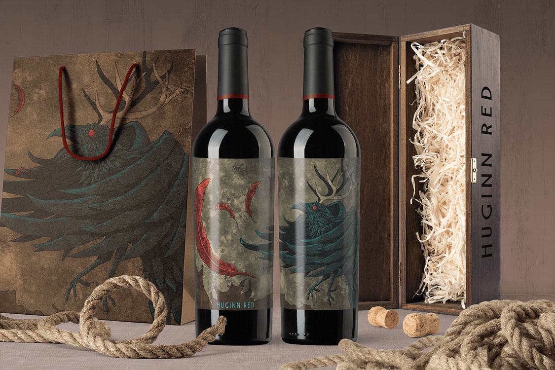 HUGINN RED WINE