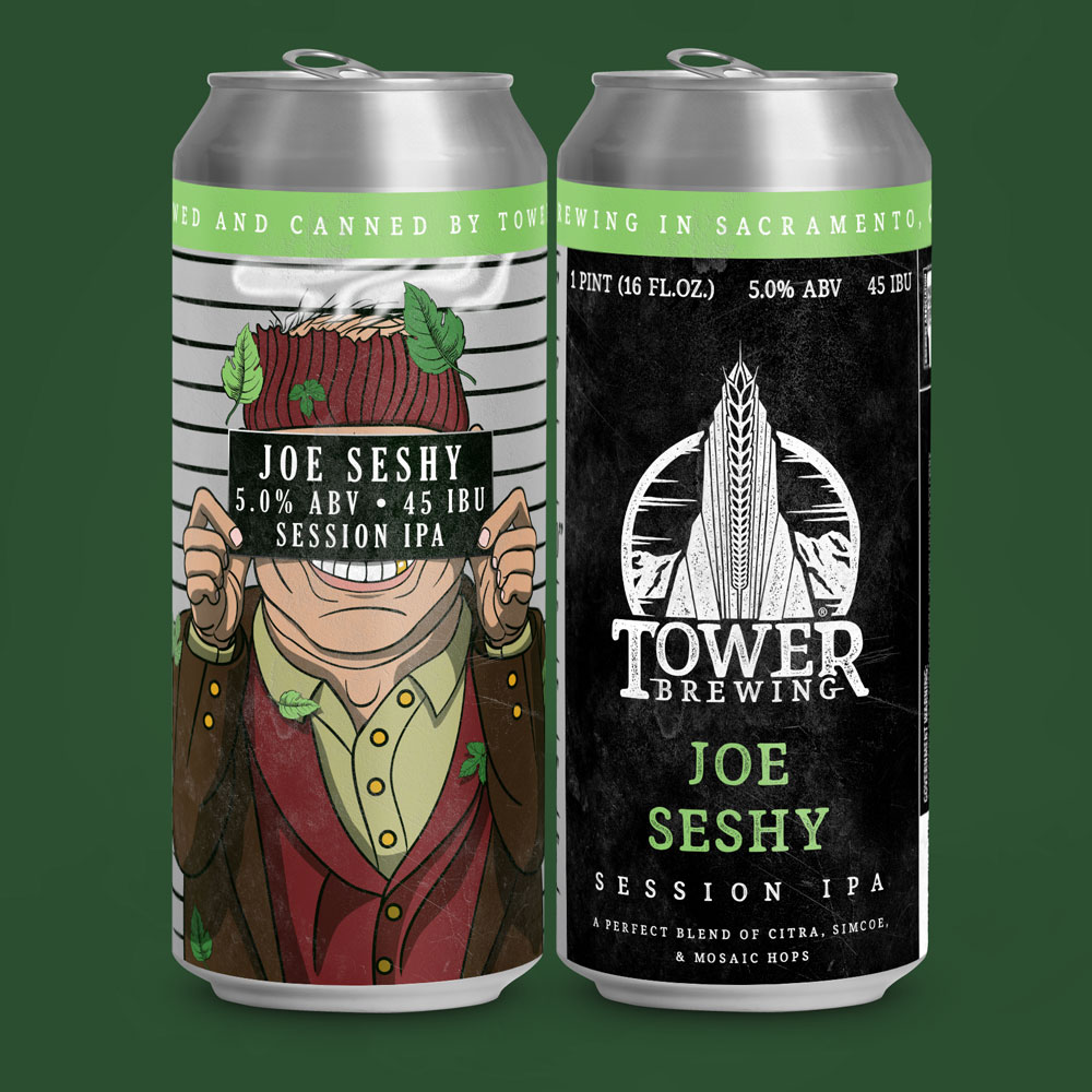 TOWER BREWING'S JOE SESHY