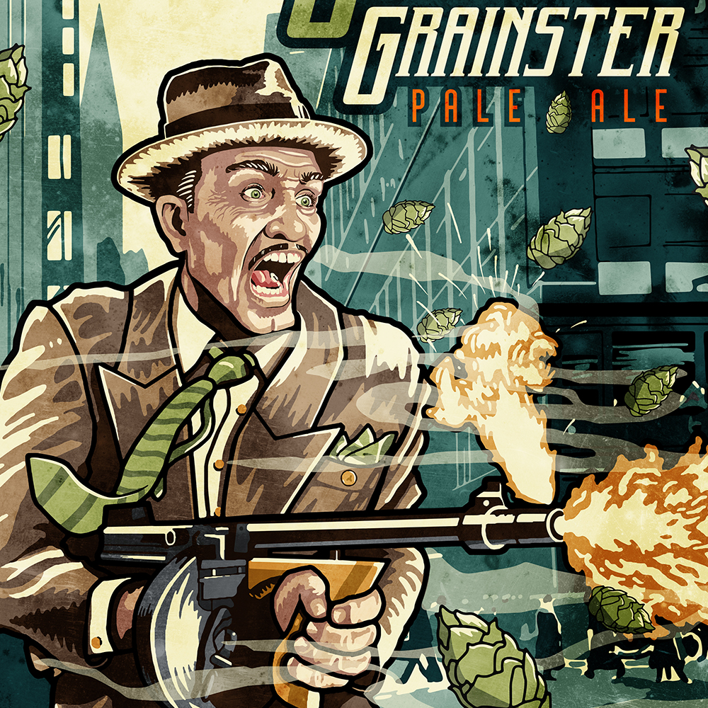 TOWER'S ORIGINAL GRAINSTER POSTER