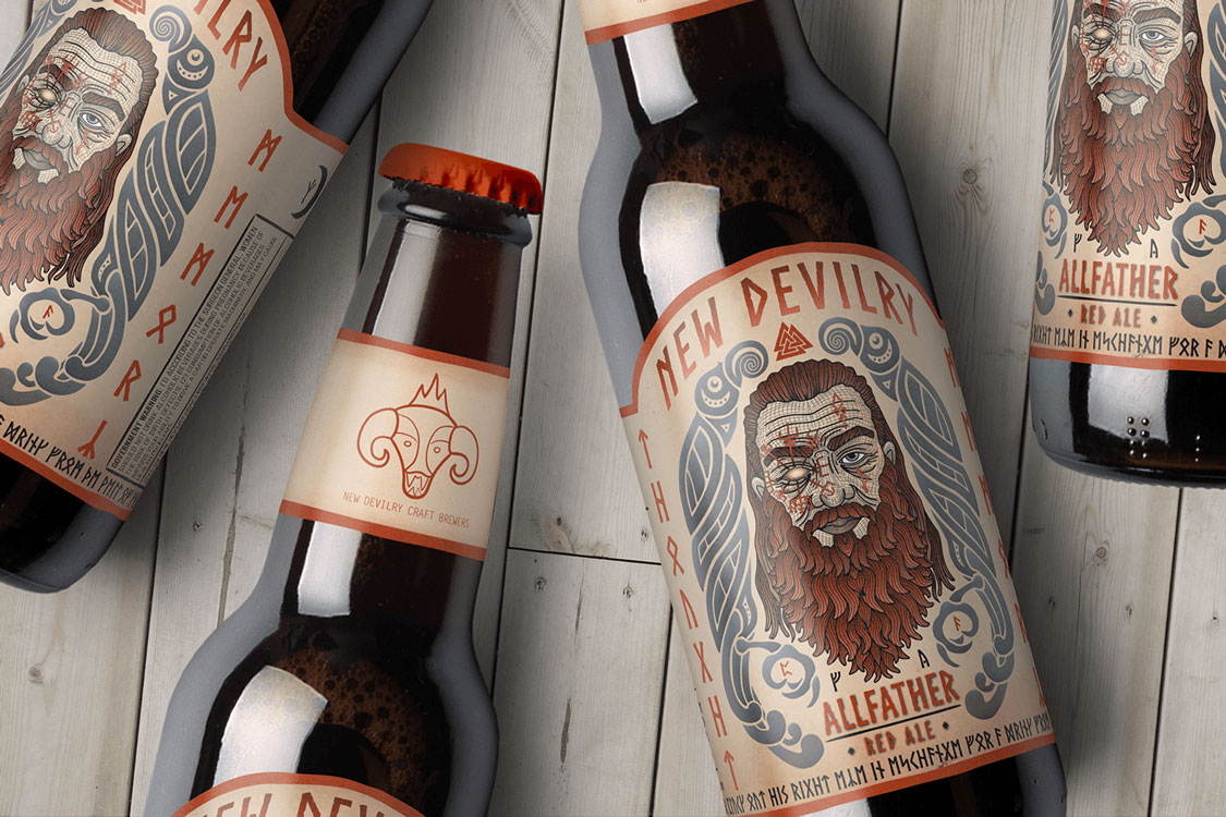 NEW DEVILRY'S ALLFATHER RED ALE