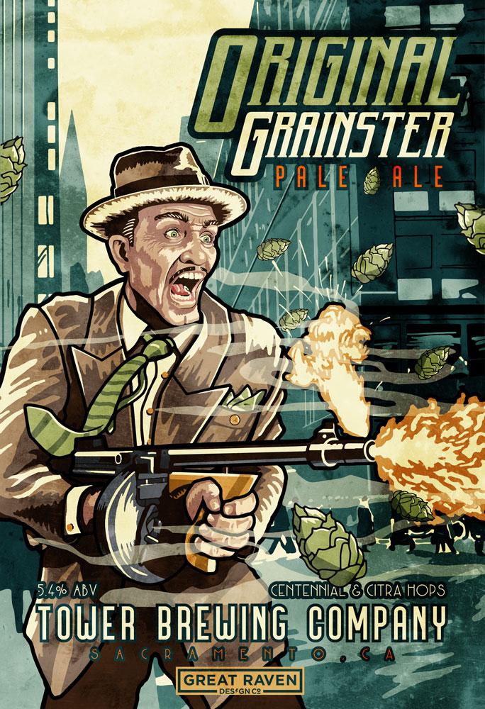 Original Grainster Beer Poster