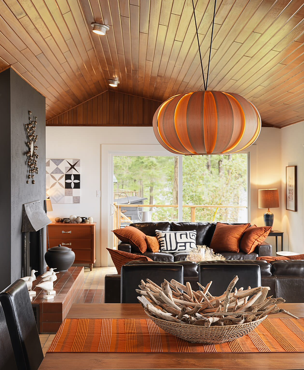 fall inspired living room decorating ideas
