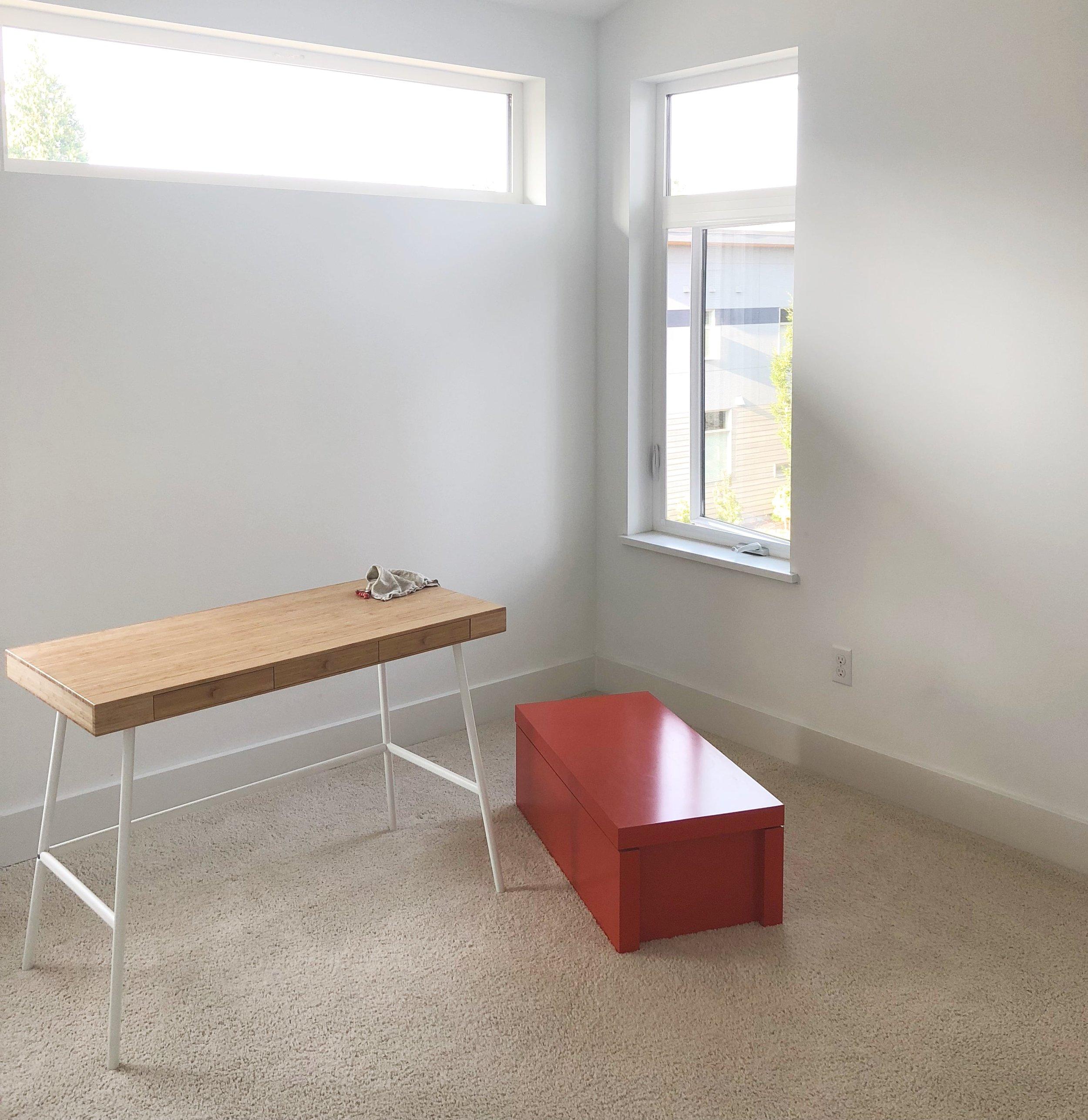 before&after - guest bedroom design