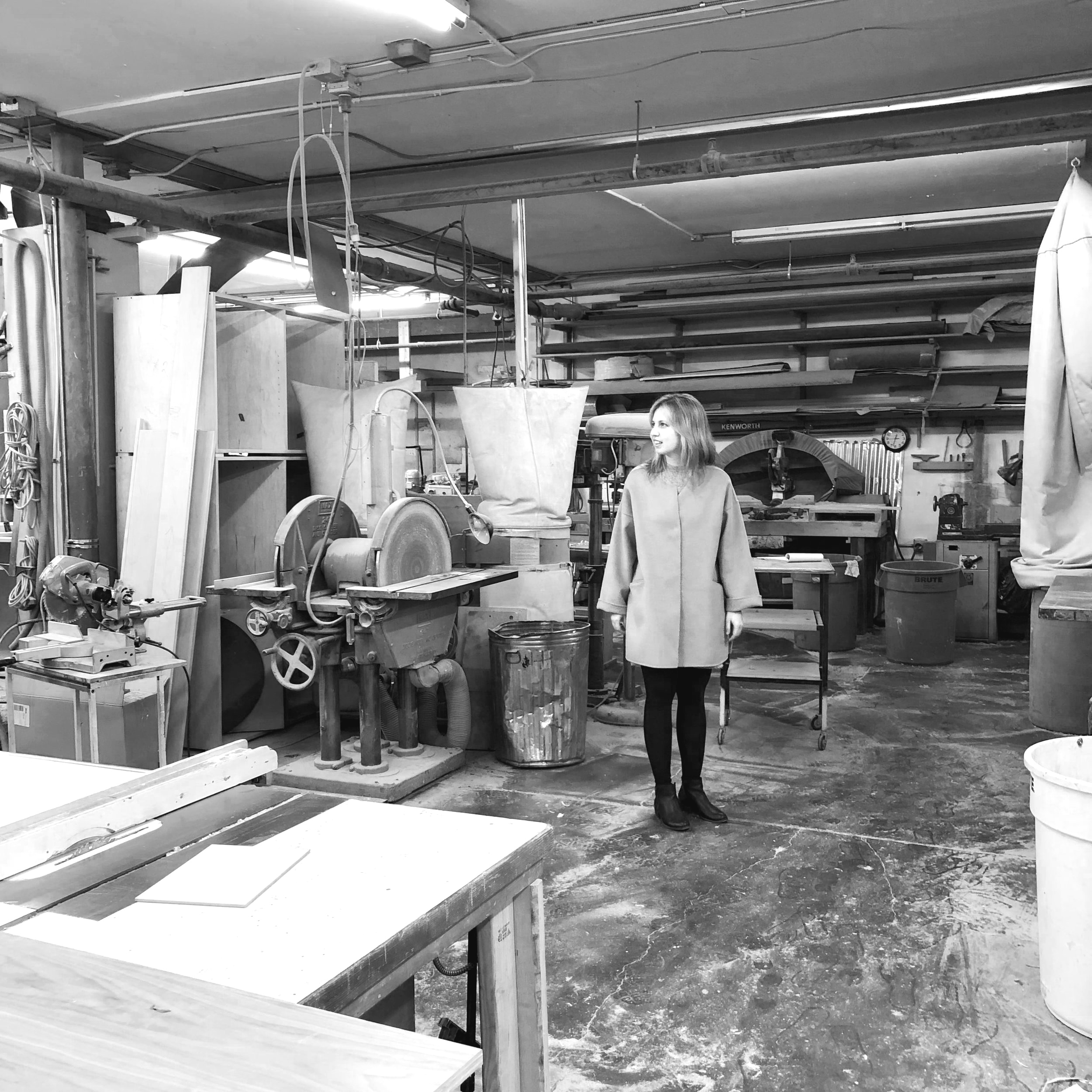 Where our ideas come to life - wood working shop (from custom headboards to vanities and kitchen cabinets)