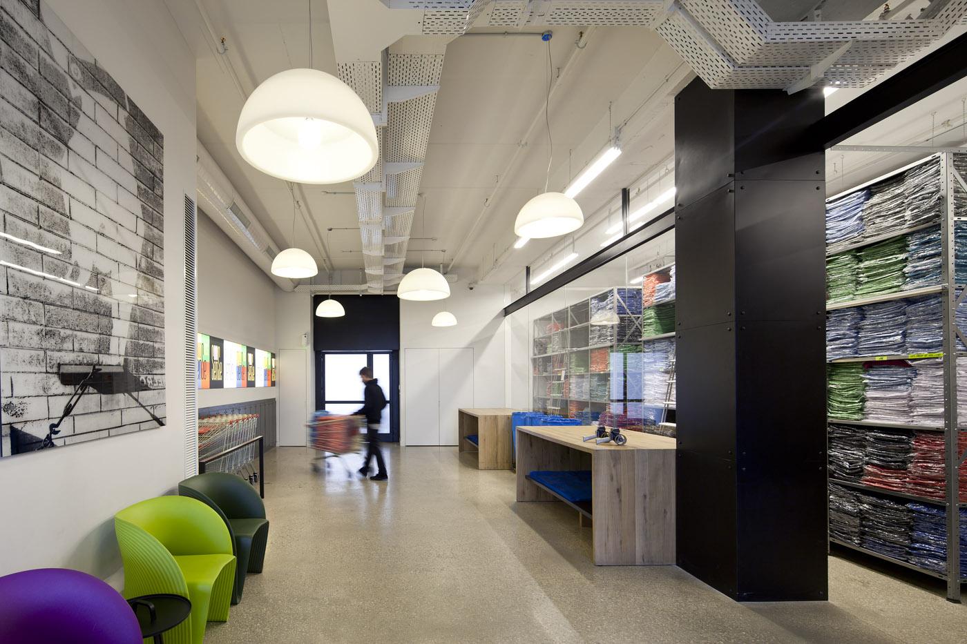modern retail space design