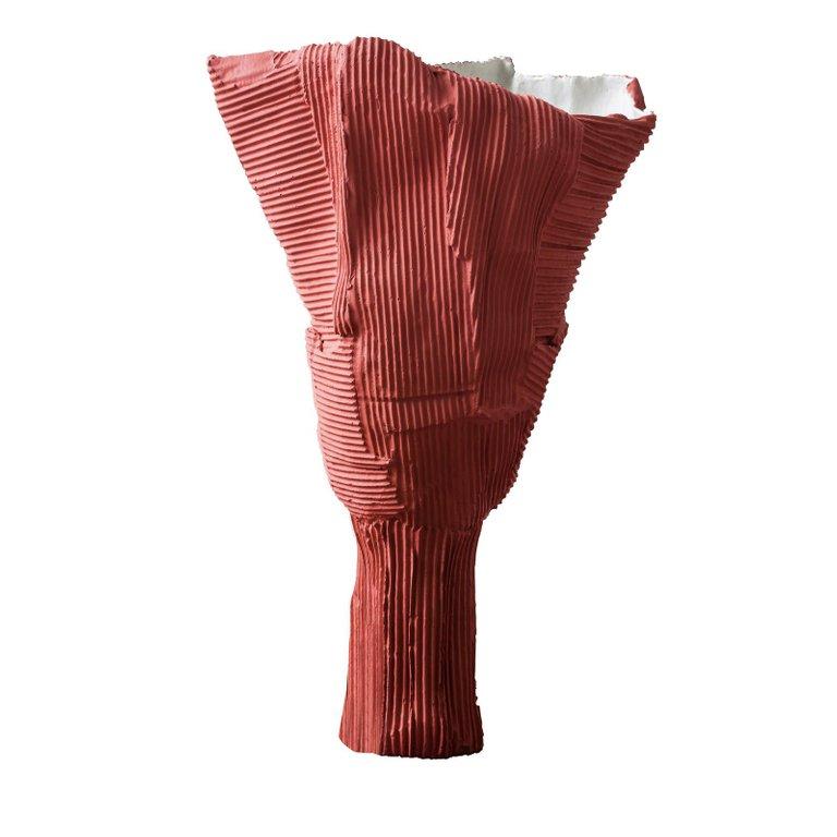 coral modern vase