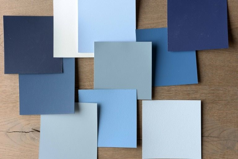 blue paint colors for the home
