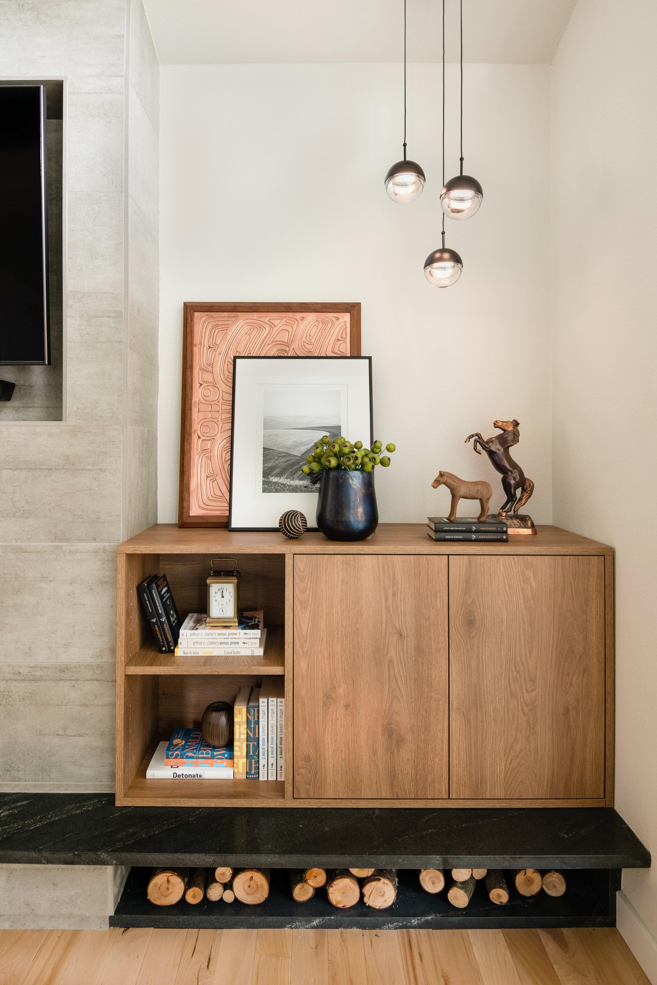 modern fireplace decor ideas