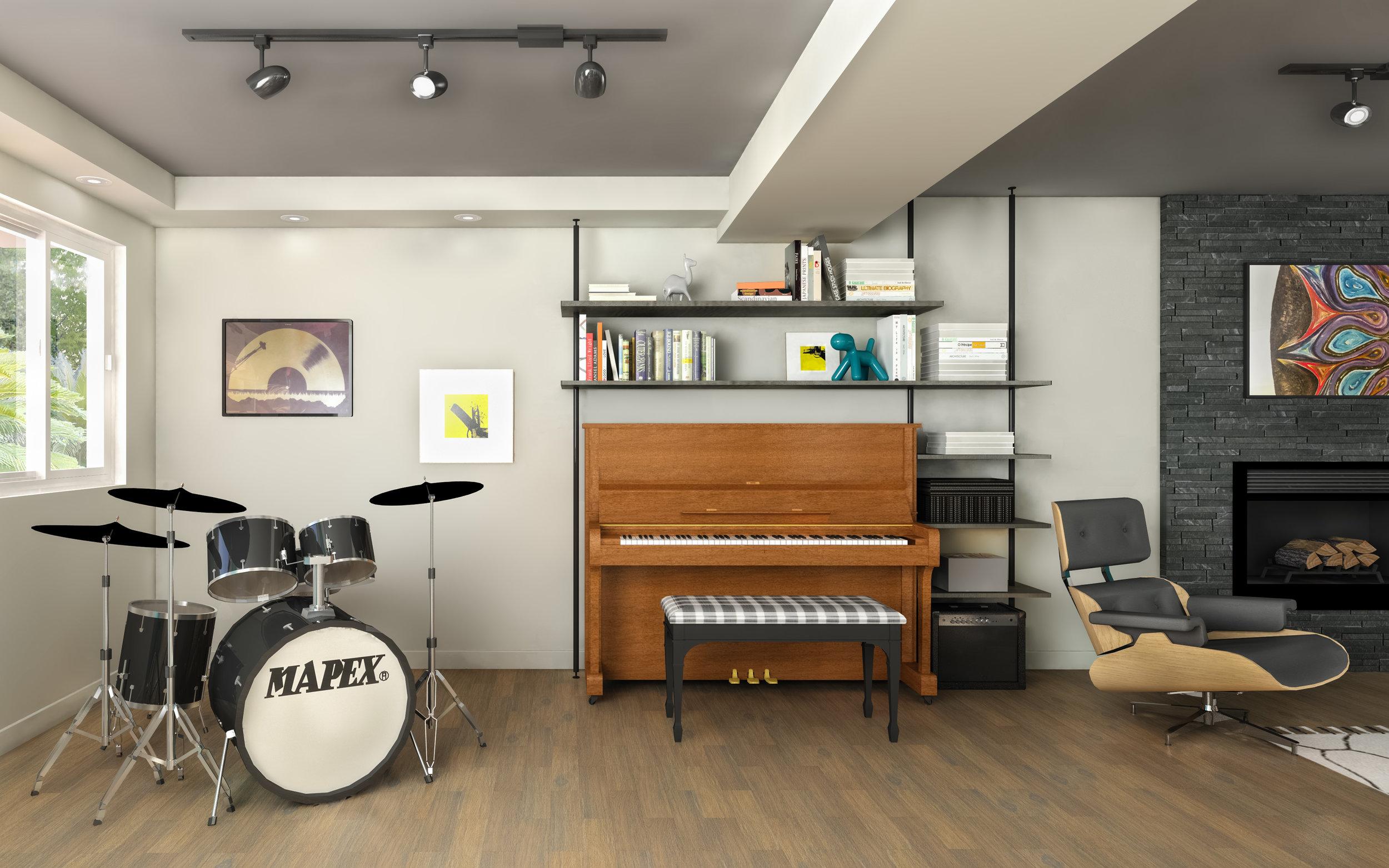 basement remodel ideas low ceiling