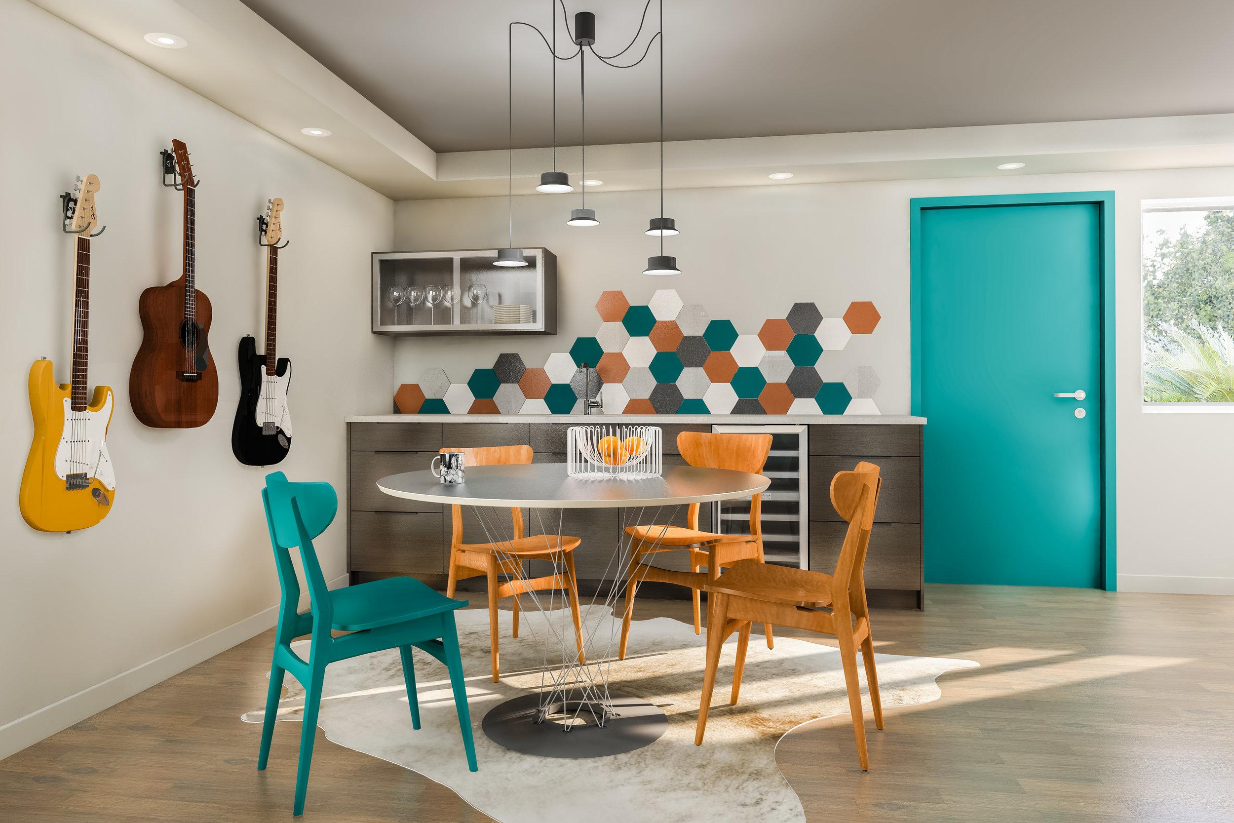modern basement remodel kirkland wa