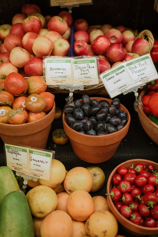 Organic Fruit