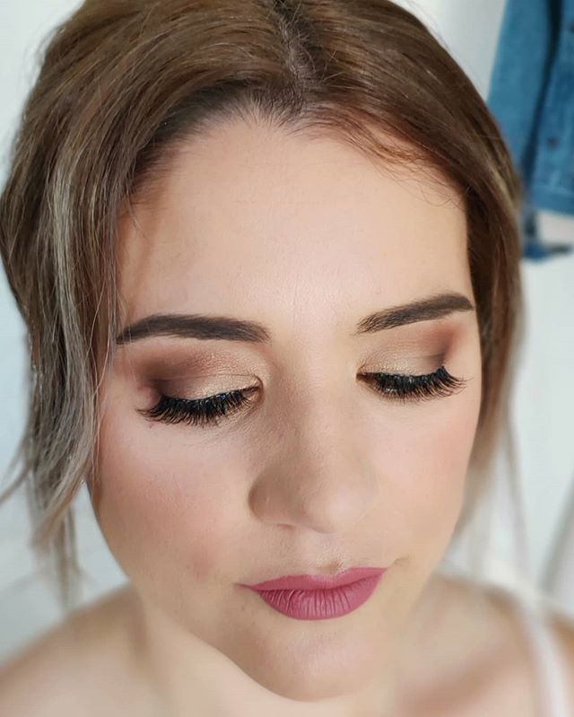 Hair and makeup for the beautiful  Nelly! She was used to black smokey eyes but she has such beautiful green eyes I was so excited to try a softer look with burnt orange and brown tones. Use the colour wheel to determine what is the contrasting/opposite colour to your eyes to make them really pop! #haironthemove #hotm2u #hotm2udianne #makeup  #makeupartist #mua #beauty #glam #glamour #artist #promakeup #makeupguru #makeupaddict #makeuponpoint #makeuponfleek #makeuplife #hmua #hairstylist #hair #hairgoals #haironpoint