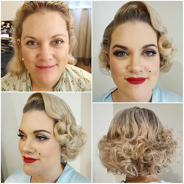 Had so much fun doing this Marilyn Monroe makeover on the beautiful Meaghan while she was visiting Sydney for a conference and Las Vegas themed ball. Contact me today to discuss your own vintage glam makeover! #marilynmonroe #marilynmonroemakeover #pinupmakeover #pinup #vintage #makeup #makeupartist #hmua #pinuphair #vintagehair #hairstylist #hair #hairgoals #promakeup #makeupguru #makeupaddict #makeuponpoint #makeuponfleek #sydney #Australia #mualife #makeuplife