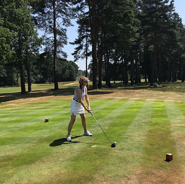 Today we're at the Woking Golf Club Joint Captins' Charity Day in aid of @sebastiansactiontrust  The sun is shining and we're hoping for a hole in one!  #EnjoyGivingSomethingBack #charity #golfday #fundraiser #fundraising