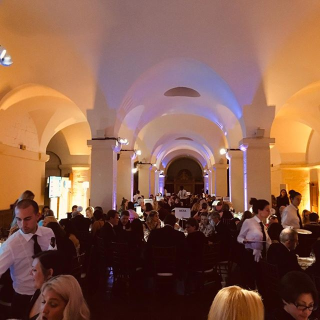 Silent auction experiences on display last night at the Insurance Supper Club charity dinner at Saint Paul's Cathedral, proudly supporting UN Women UK #fundraising #charity #galadinner