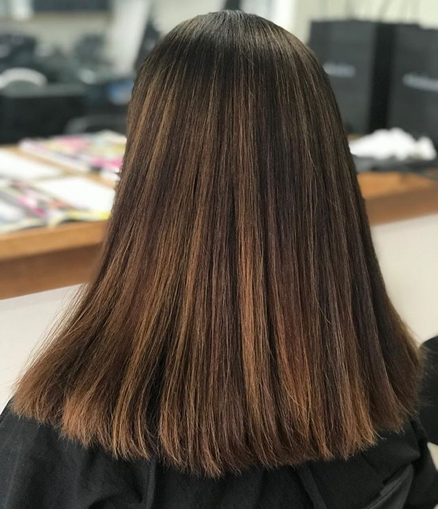 Oozing with Caramel Highlights 🍫  #instahair #chocolatelover #instalove #hairhighlights #hairinspiration #instahairdresser @keuneanz @keunehaircosmetics