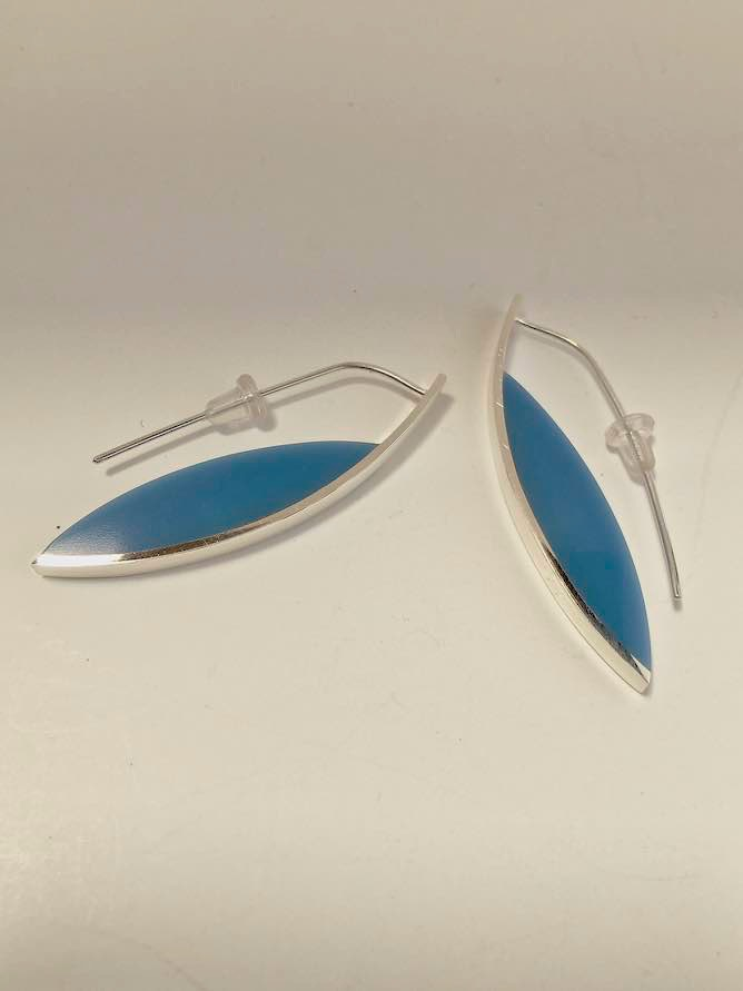 Curve Earrings #5