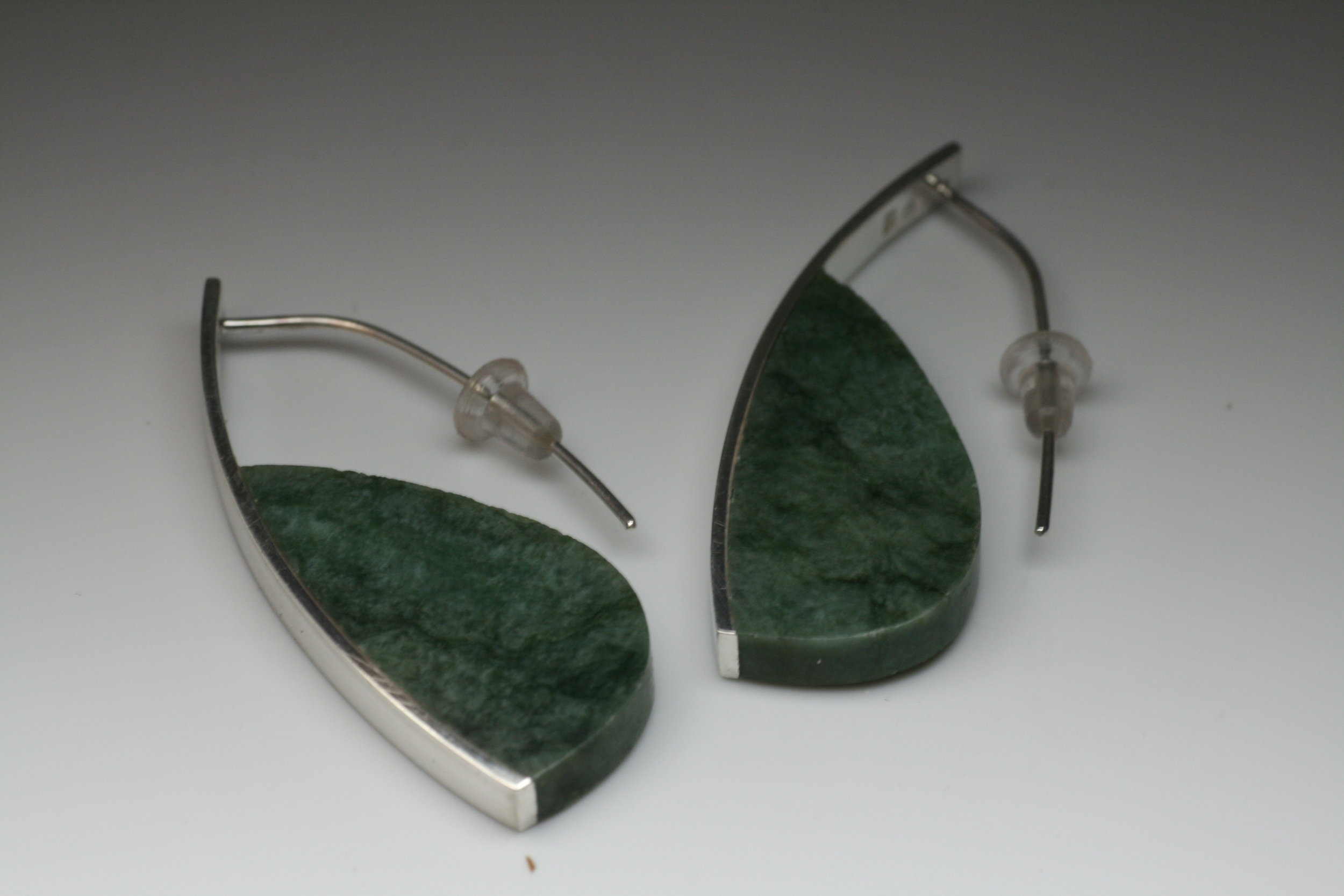 Curve Earrings #1