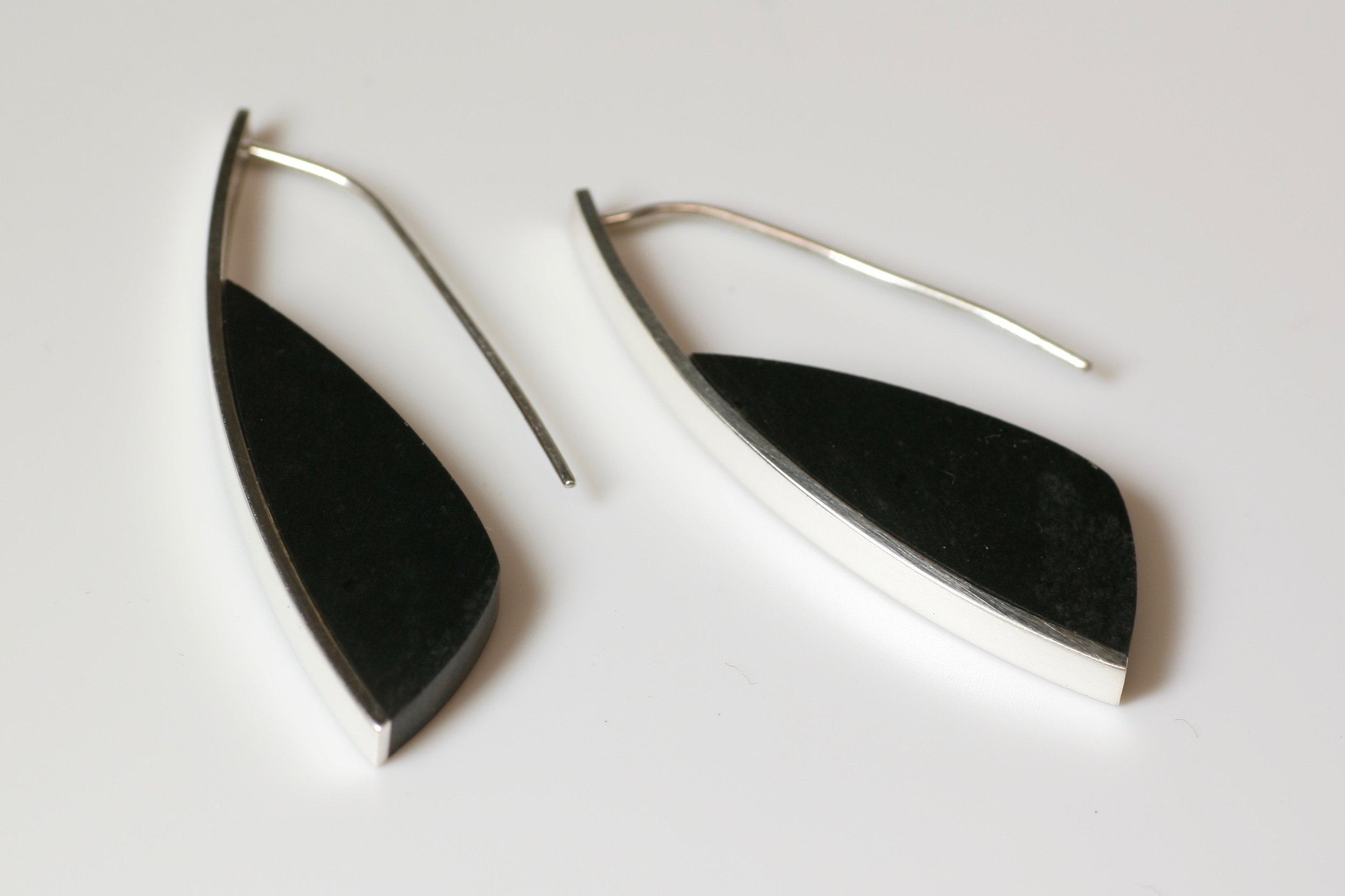 Curve Earrings #3