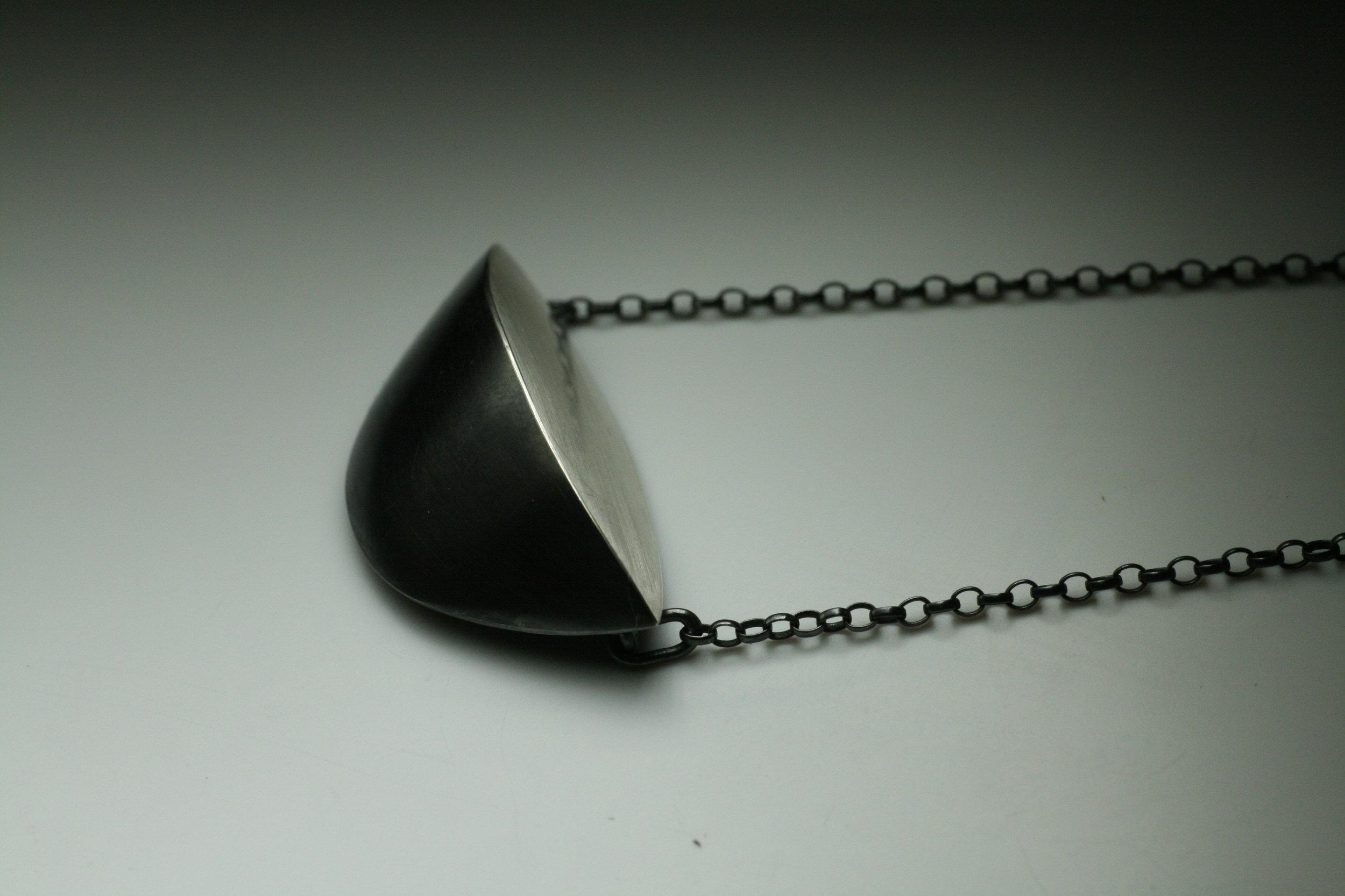 Ventifact necklace