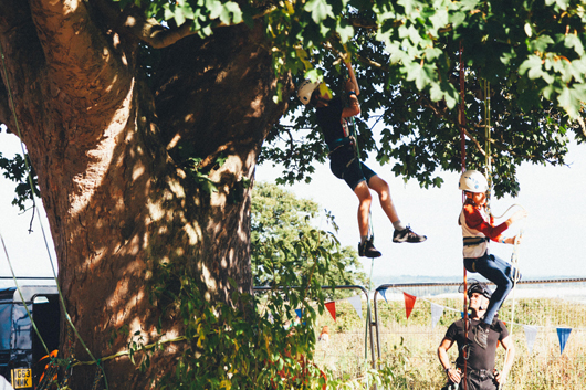 TREE CLIMBING - Photo: Phil Roberts-Jones