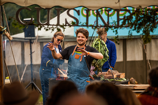 A WEEKEND OF CAMPFIRE COOKING DEMONSTRATIONS - Photo: Nenad Obradovic