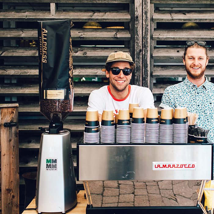Coffee Roasting Masterclass with Charlie Cook. - 3-5pm. Food Workshop Tent.