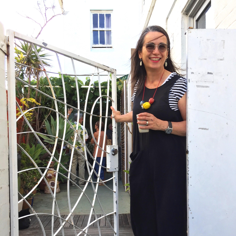 Lisa at the Bakehouse Studio Marrickville