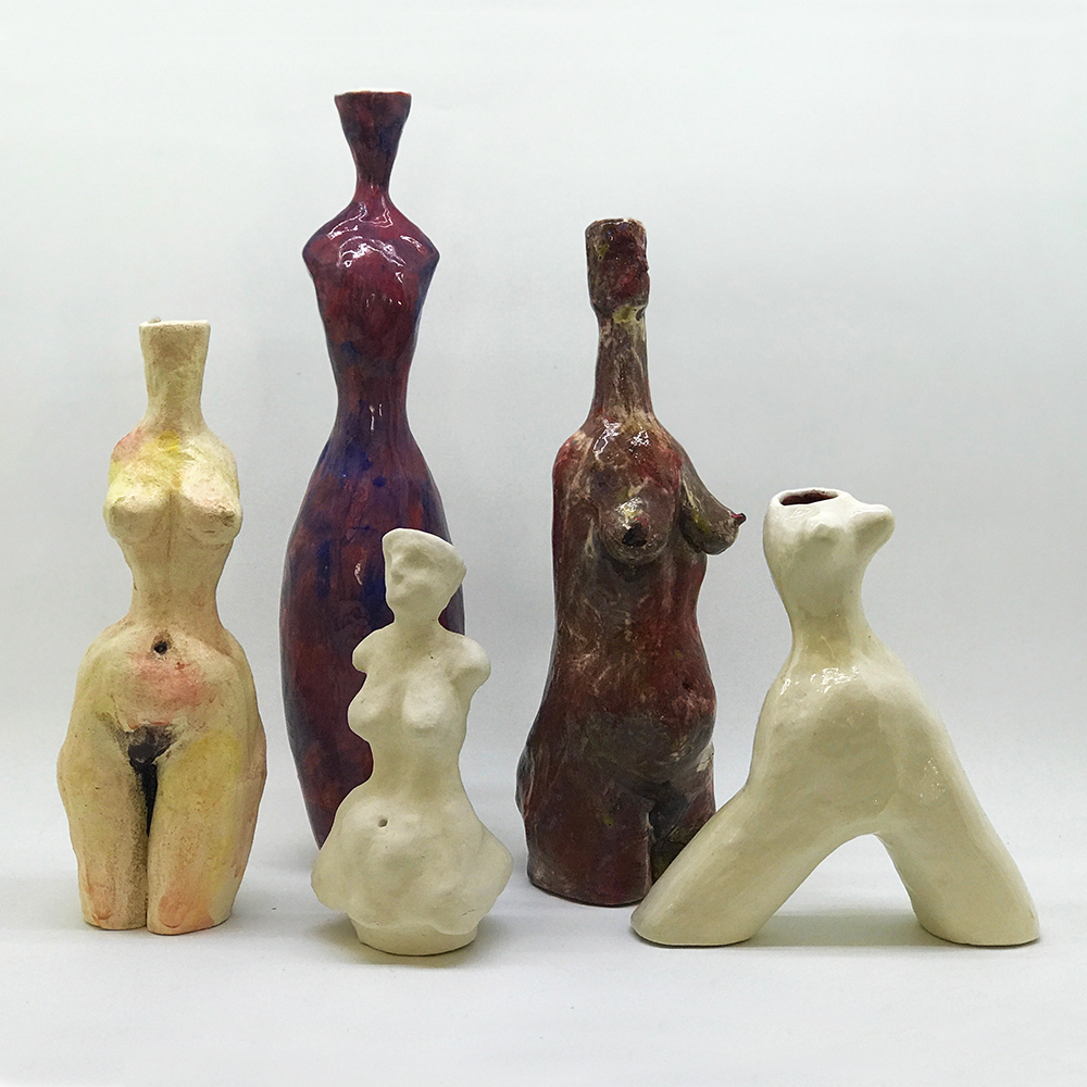 Assorted figures approx 250mm x 120mm