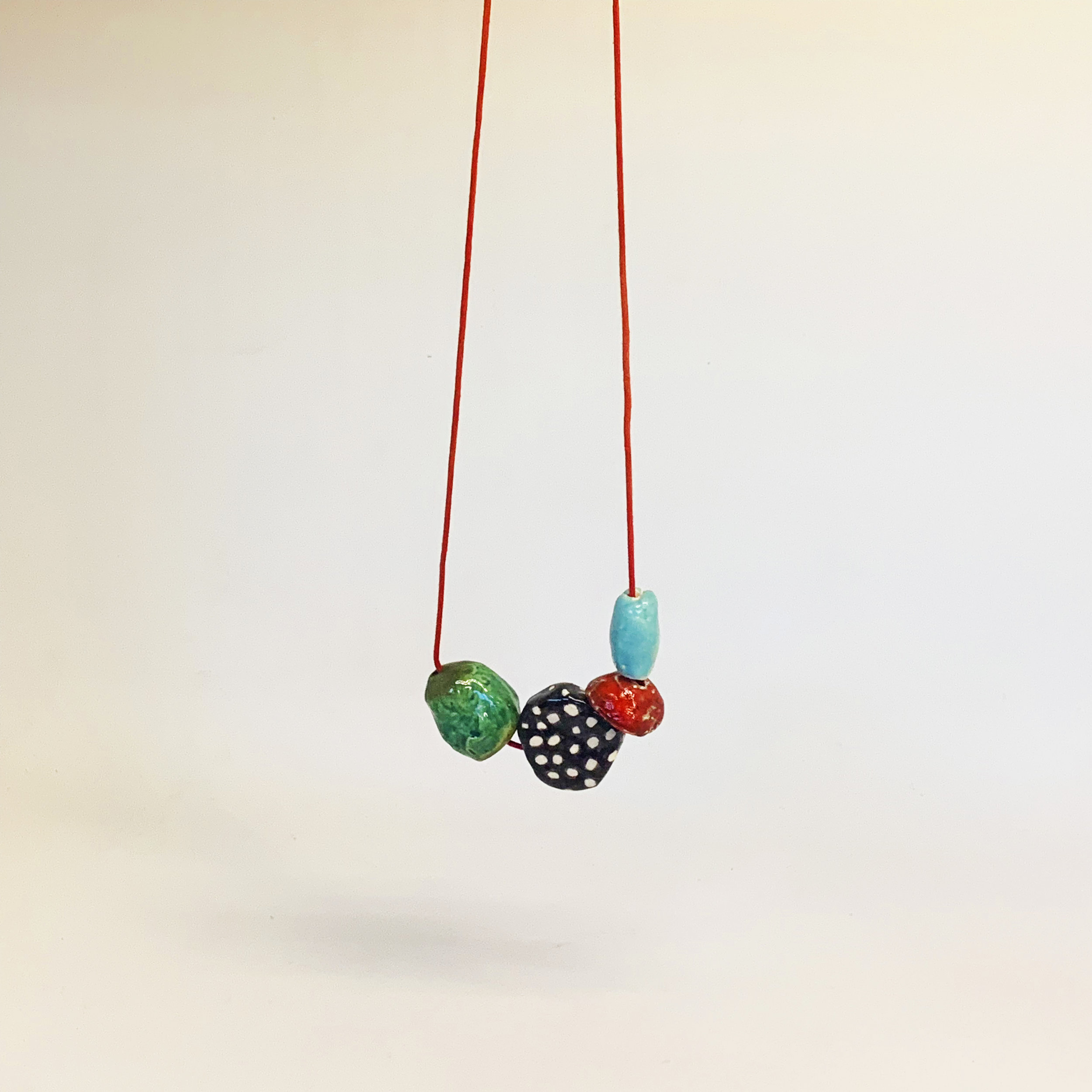 Necklace with 4 beads