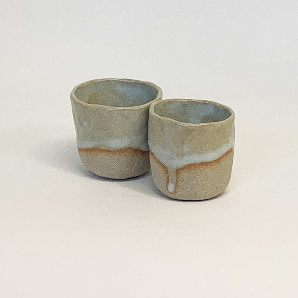 Sake cups 50mm diameter x 65mm high
