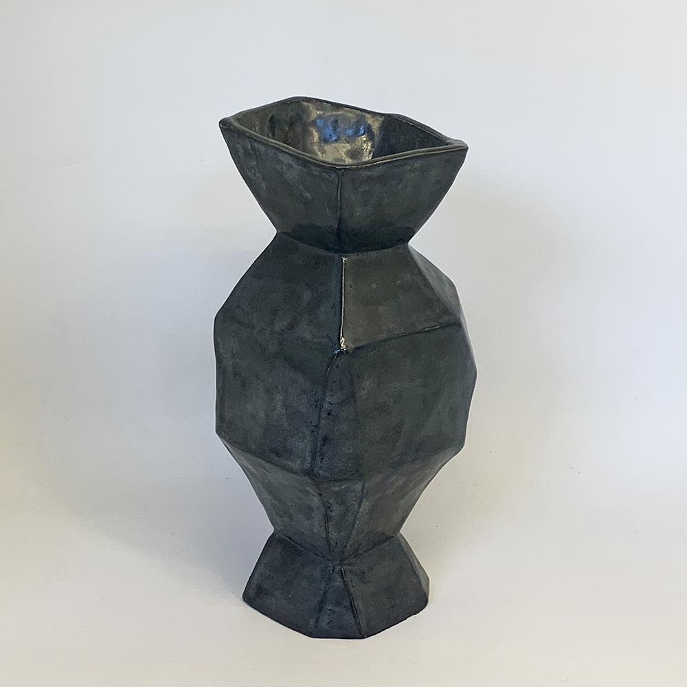 Cubist vase 160mm diameter x 300mm