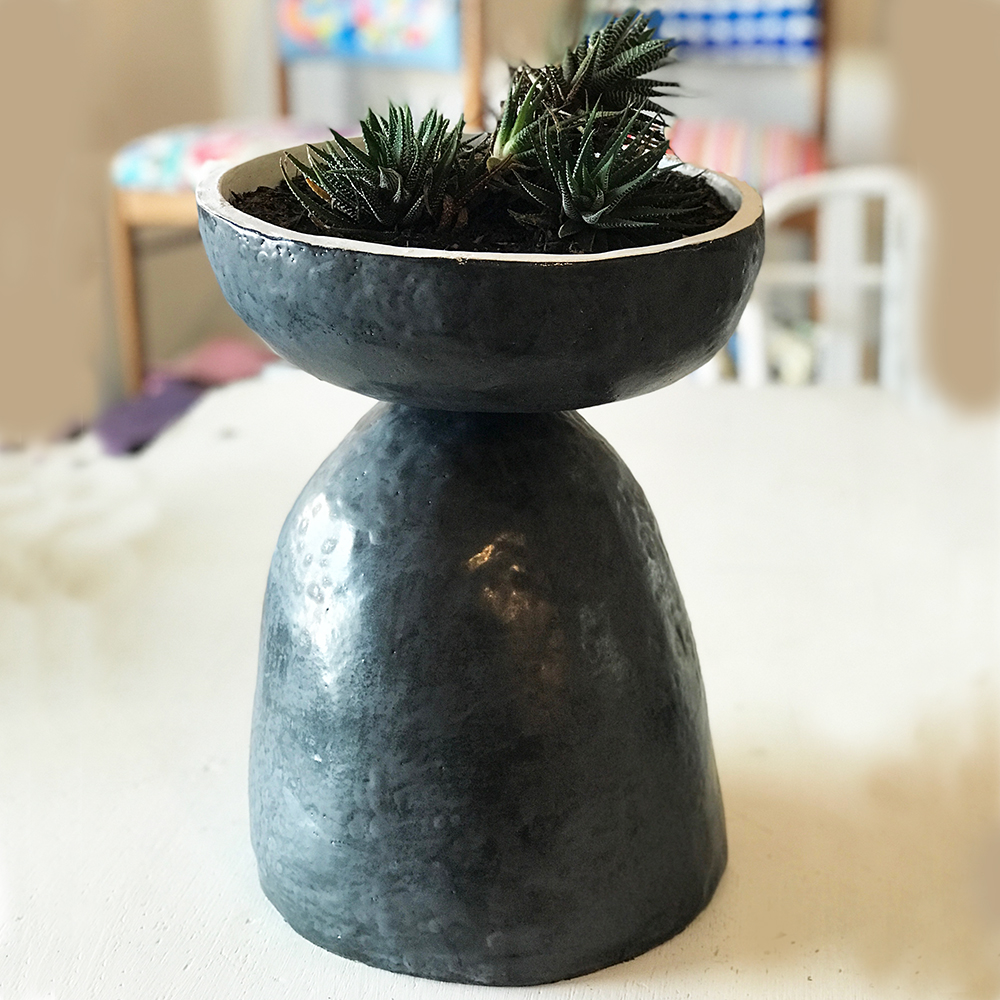 Planter approx 210mm w x 400mm high