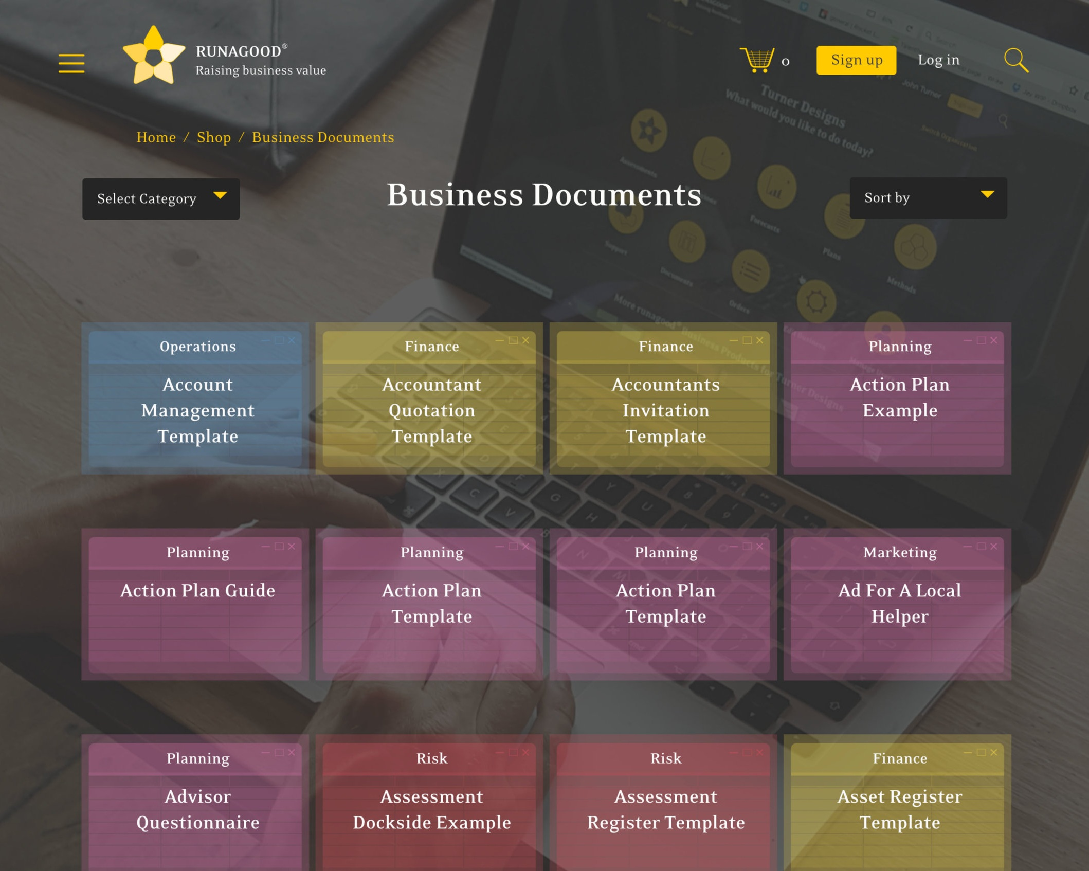 Business Documents - Hundreds of editable downloads to assist your project implementation