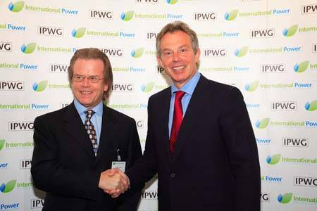 Duncan collins with Tony blair, former prime minister of UK (1997 - 2007)
