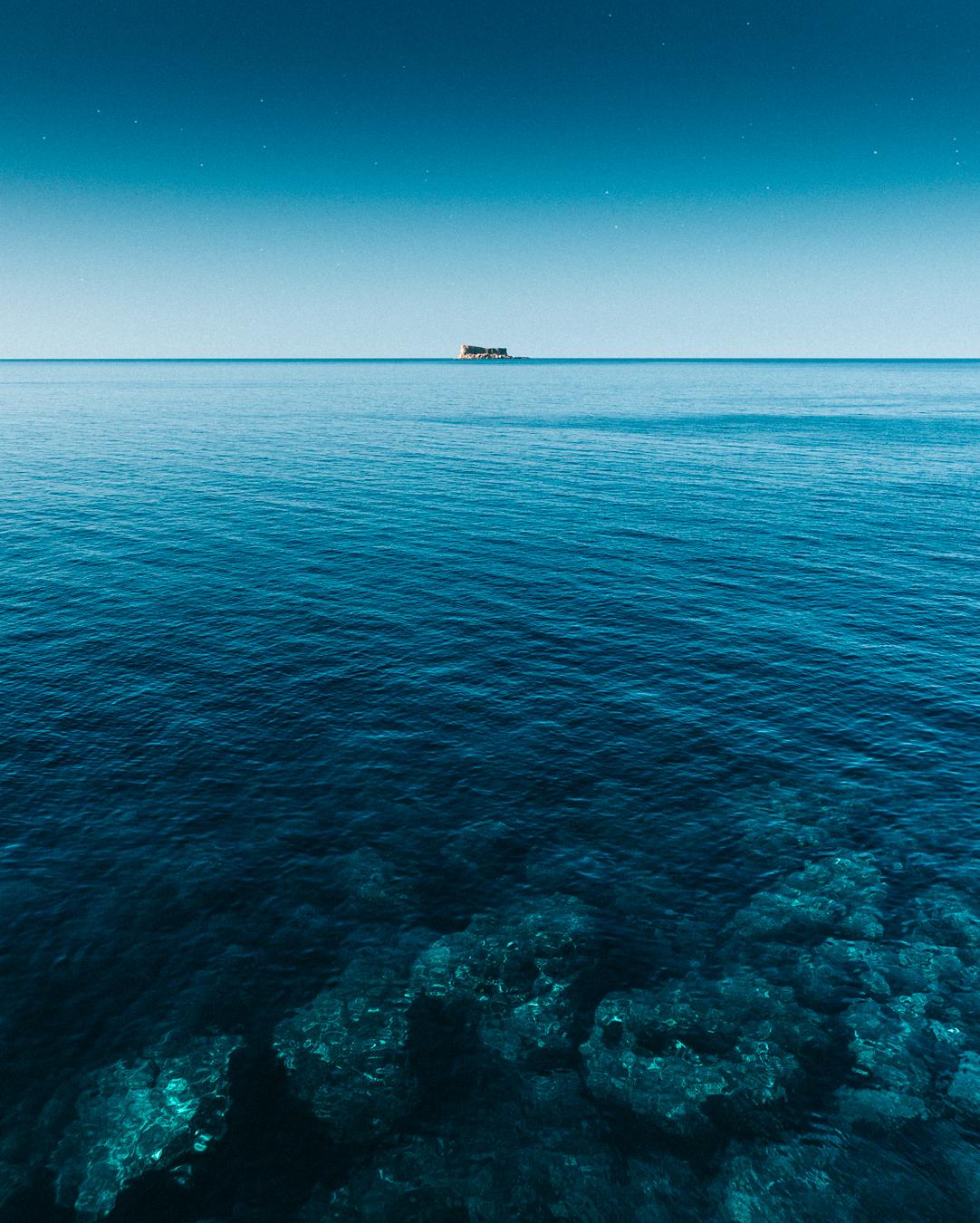 West Coast Malta, island of Filfla