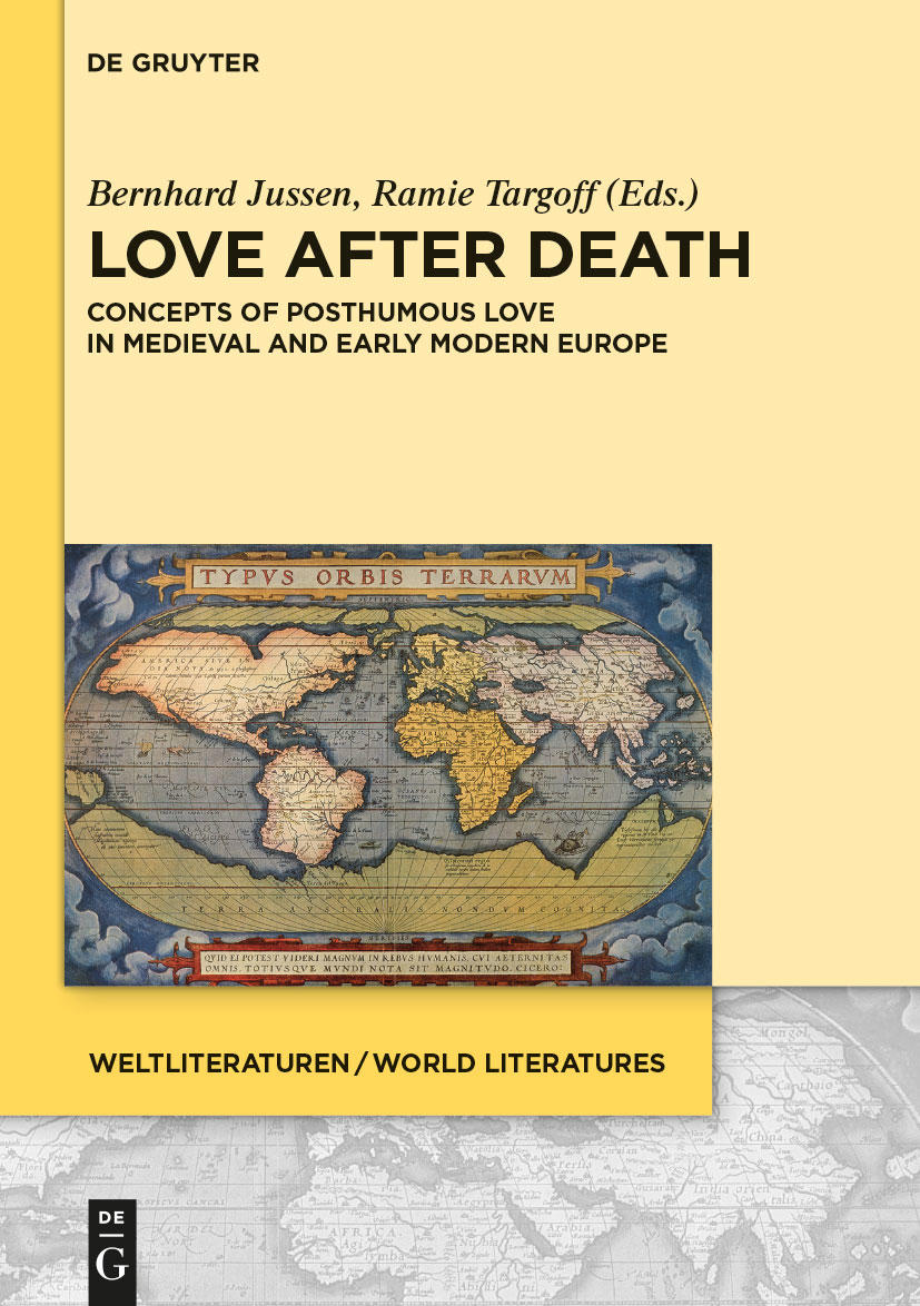 Love After Death: Concepts of Posthumous Love in Medieval and Early Modern Europe (Co-edited with Bernhard Jussen. Akademie Verlag, Berlin, World Literature series, DeGruyter, 2014)