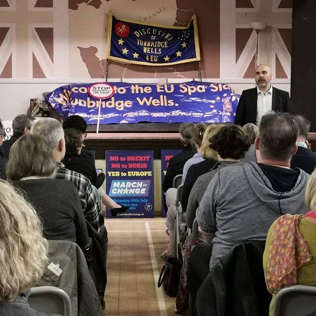 Lord Adonis Talk  #tw-in #lordadonis #TunbridgeWells #speach #RevokeArticle50 #StopBrexit #no2brexit