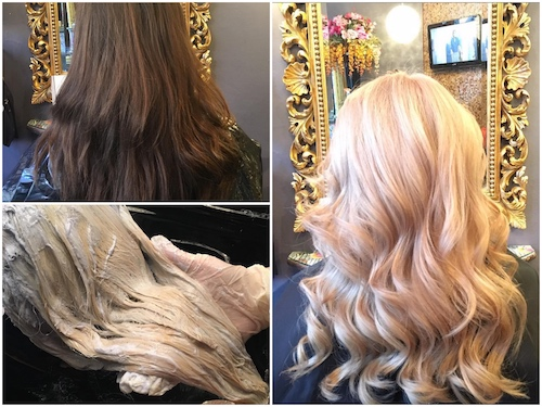 Brown to bright blonde by Sorina