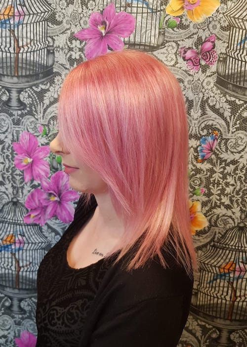 Colour and cut by Louise