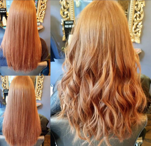 Before, During & After — Great Lengths Extensions by Rachel