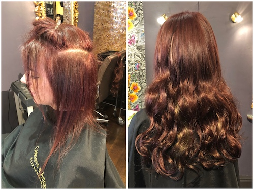 Before & After — Prostyles Monofibre Extensions by Joan