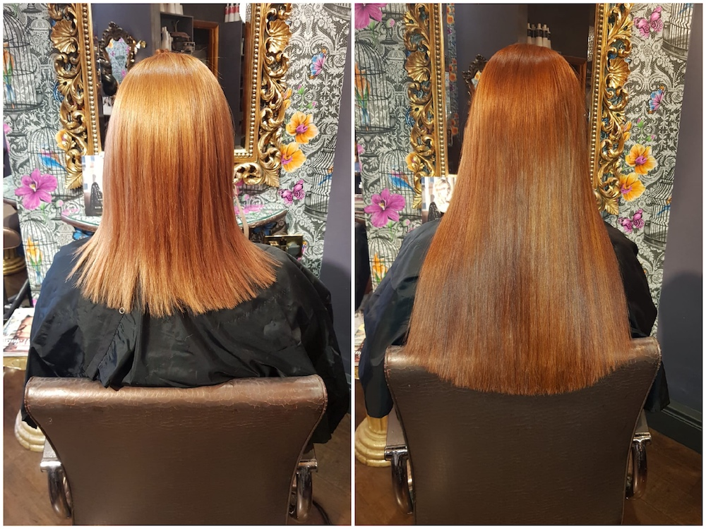 Before & After — Great Lengths Extensions (75 pieces) by Louise