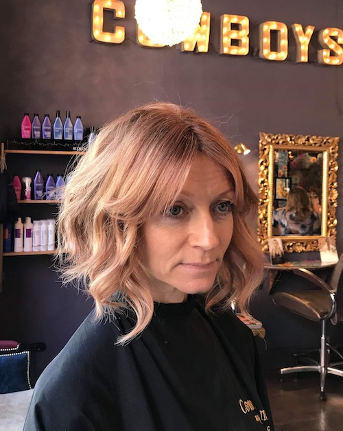 Cut (& Rose-Gold Colour Tones) by Joan