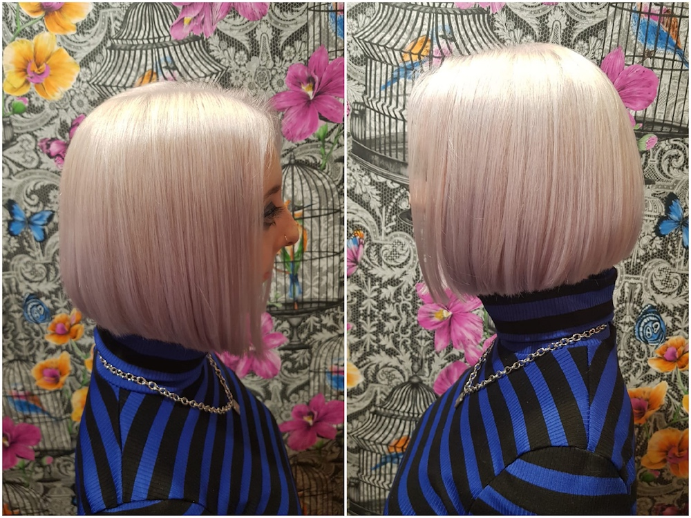 Bleach-up, Olaplex & Violet toner by Louise